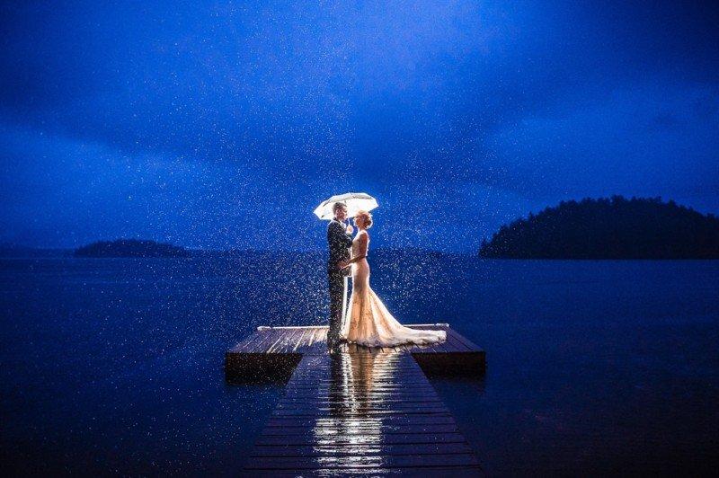 عکاسی عروسی با لنزهای واید